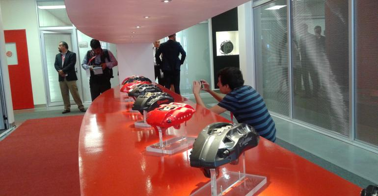 Brembo Brake Maker Opens Mexican Plant Eyes New