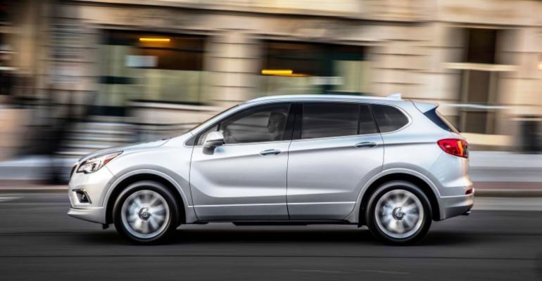 Buick is filling the hole in its product lineup by importing the Envision from China where it has been selling like hotcakes for more than a year