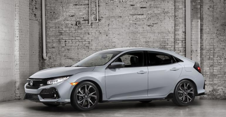 Most 3917 Civic hatch grades on sale now in US