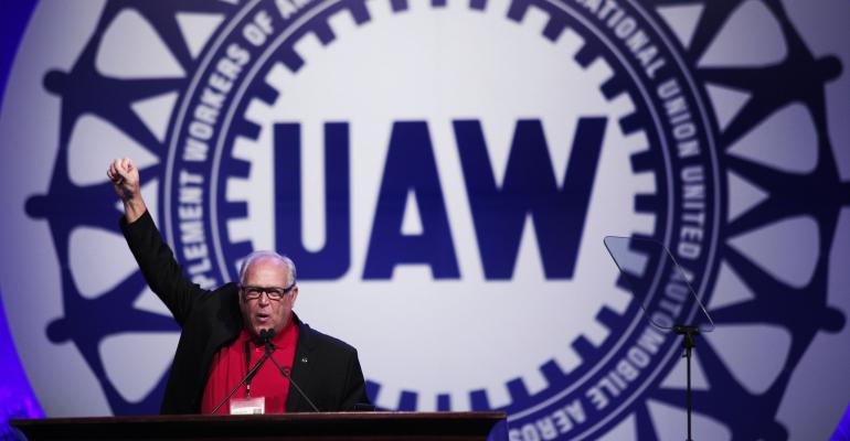 UAW president estimates more than onethird of rankandfile voted for Trump
