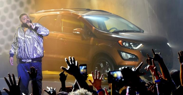 DJ Khaled introduces Ford EcoSport at Hollywood event