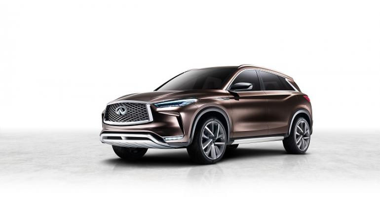 Infiniti QX50 Concept With ProPilot to Debut in Detroit