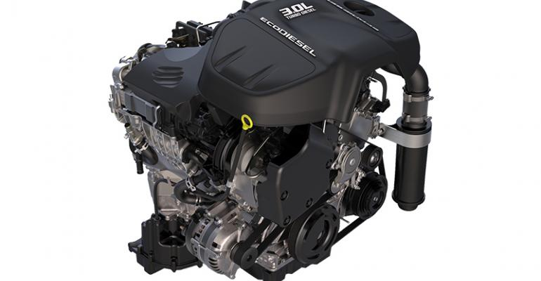 EPA says FCArsquos awardwinning EcoDiesel 30L V6 not in compliance