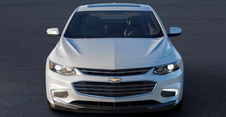 Solid December for Malibu spurs Chevrolet sales