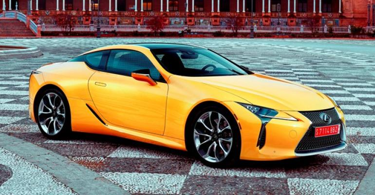 Wardsauto Test Drive Lexus Lc Loaded With Bad Boy Mojo