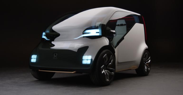 NeuV suitable for automated ride sharing