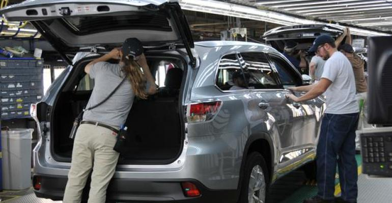 Border tax would lower demand cost US jobs Toyota says