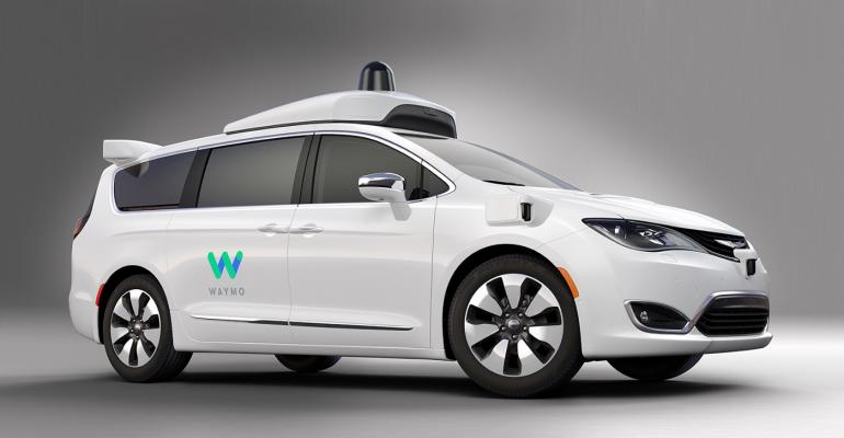Fully autonomous Chrysler Pacificas start onroad testing this month