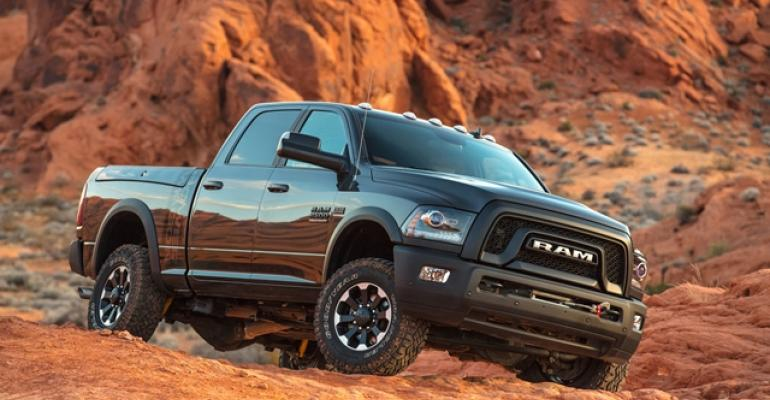 Ram Power Wagon tackles rocky terrain and backcountry trails with ease