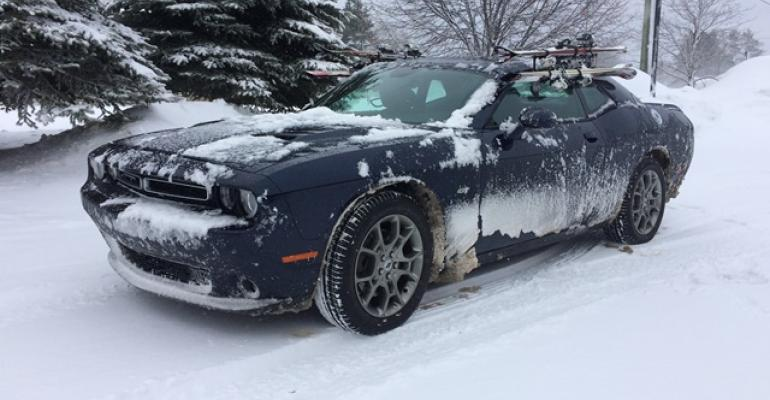 Challenger GT AWD sneers at snowy roads