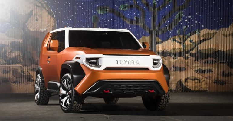 Toyota FT4X harkens back to classic FJ Land Cruisers