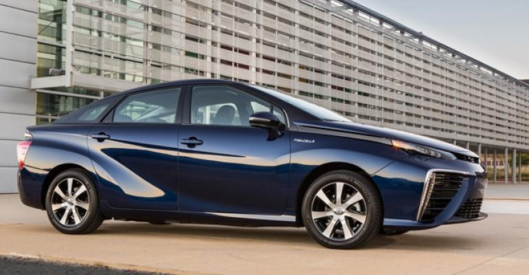 Toyota Mirai FCV among products with Primearth technology