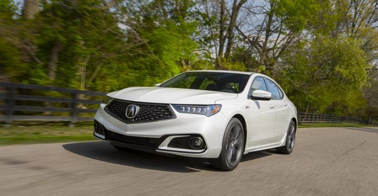 Refreshed TLX on sale June 1 in US