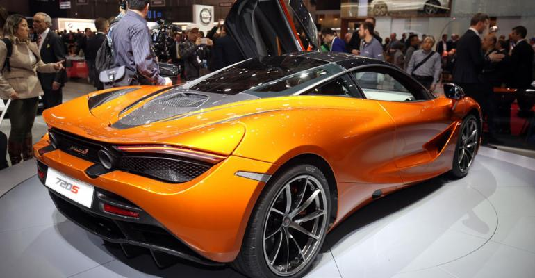 17 McLaren 720s potential candidate for resale in Thailand