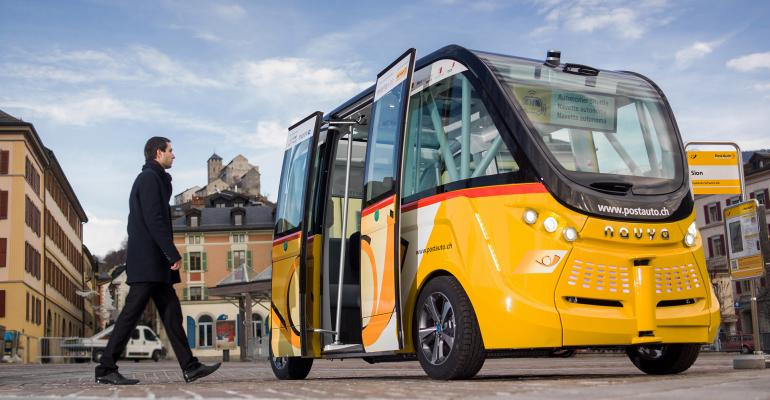 Thanks to UbiMobility electric autonomous shuttle Navya was selected to be part of Mcity program