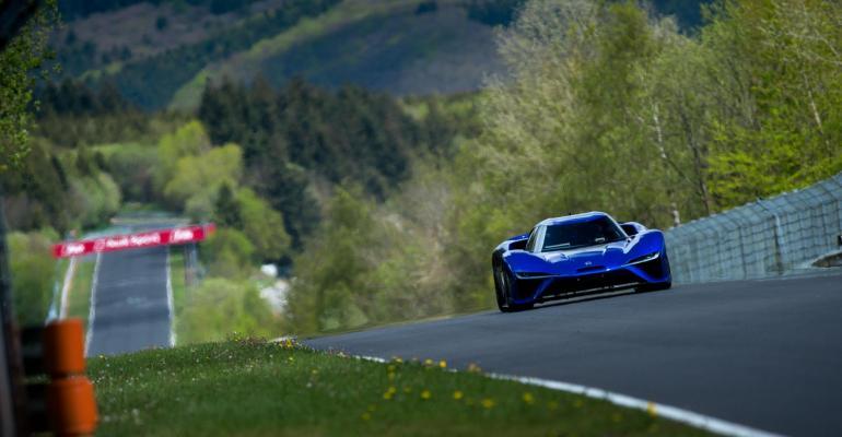 EV boasts 1342 hp 0200 mph in 71 seconds