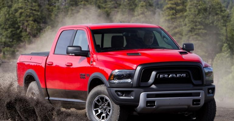 Ram pickups powered FCArsquos April sales