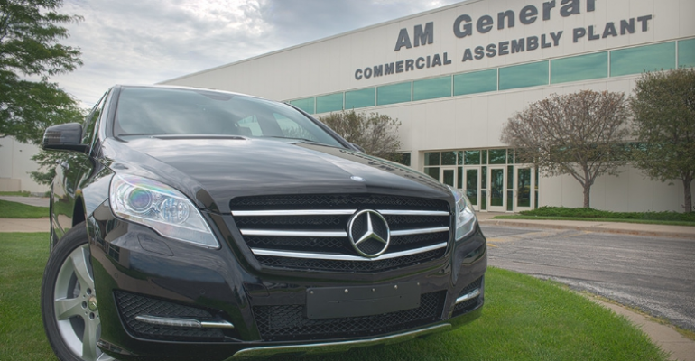 Mercedes RClass on way out EV on way in at Indiana plant
