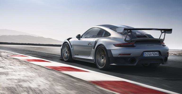 911 GT2 RS matches 918 Spyderrsquos top speed of 211 mph