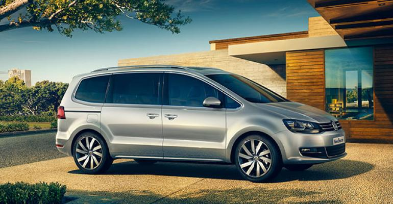 20L diesel in Sharan MPV gets 565 mpg VW says but buyers may balk