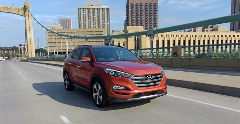 rsquo17 Hyundai Tucson starts at 22700 before 895 freight charge