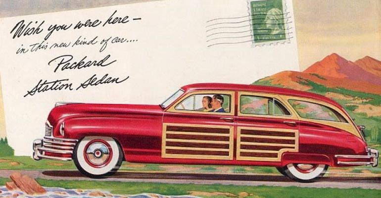 Packard among those benefitting from postwar independentautomaker sales surge in 1948