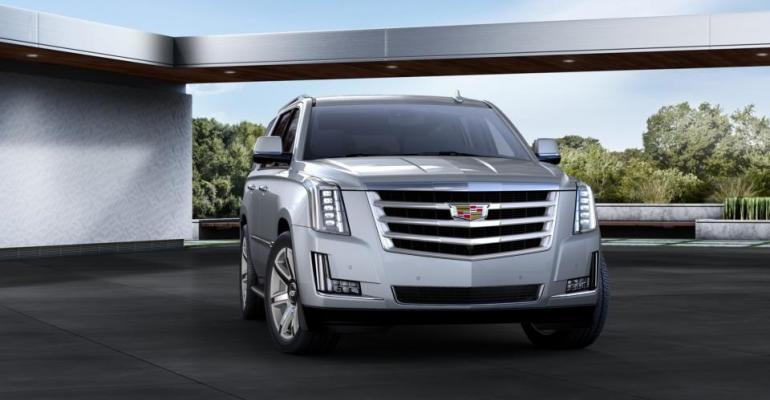 GM counting on Escalade to resonate with Russian buyersrsquo affinity for SUVs