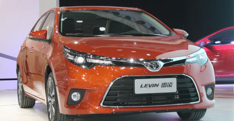 Toyota Levin among Chinarsquos bestselling conventional hybrids