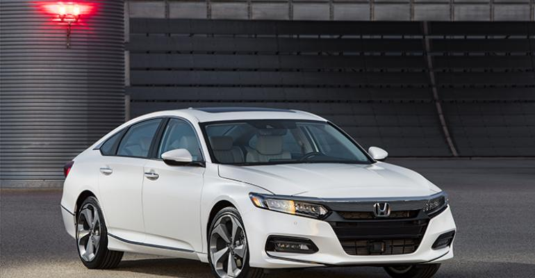 3918 Honda Accord on sale this fall in US
