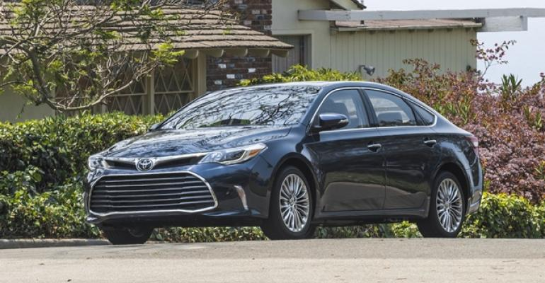 As Camry skews younger Avalon provides mature alternative