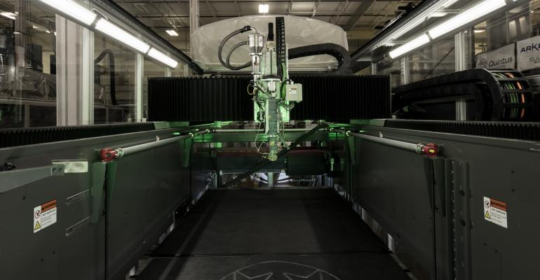 3D printer at DOE39s Manufacturing Demonstration Facility
