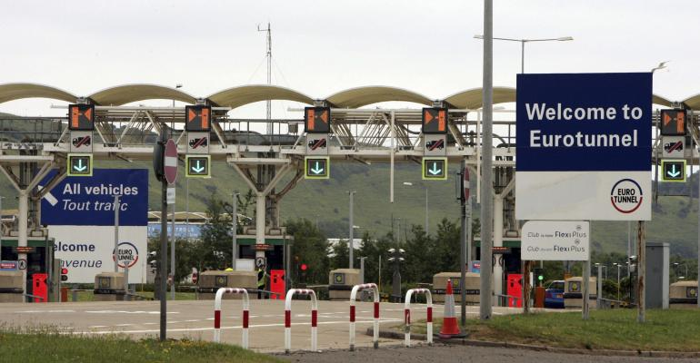 UK moving to ensure Brexit doesnrsquot cause traffic jam at border