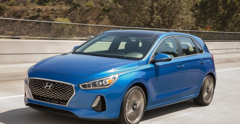 Elantra GT on sale now at US Hyundai dealers