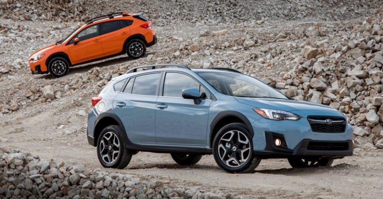 New Crosstrek factors into Subarursquos plan to sell 650000 vehicles in US this year
