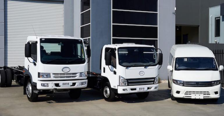 Australian company converting trucks vans to electric drive