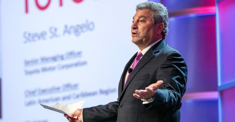 Toyota Venezuela building 100 cars daily despite economic and political upheaval St Angelo says