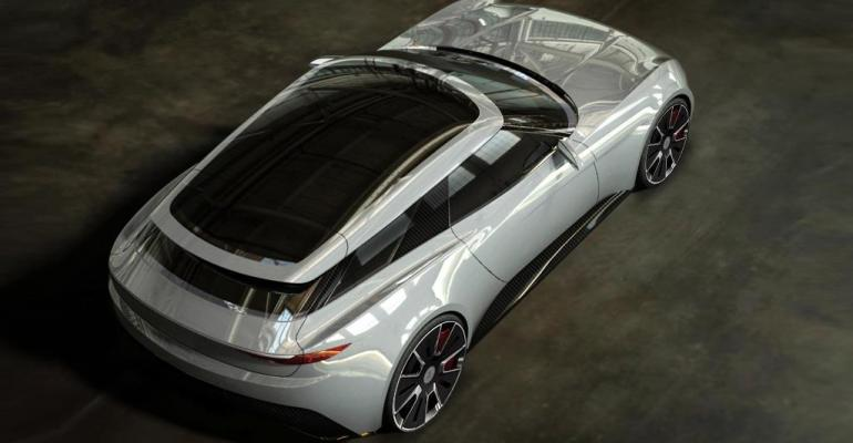 Alcraft GT Shootingbrake body with lots of glass