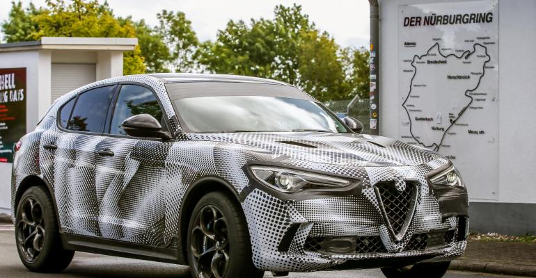 Alfa Romeorsquos first SUV powered by 510hp 29L twinturbo V6