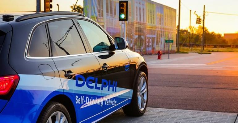 Delphi demonstrates autonomousvehicle technology at MCity