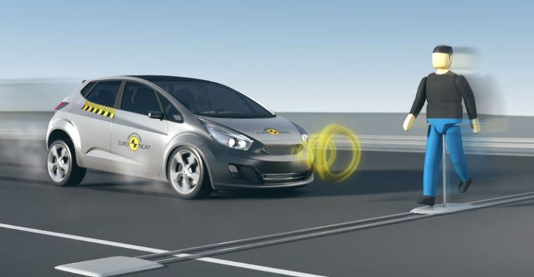 Timeline calls for wider use of autonomous emergency braking technology