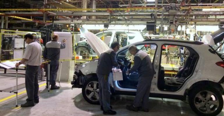 PSA CEO says Opel Zaragoza Spain plant shown has efficiency gaps