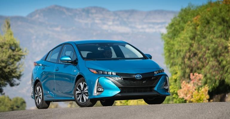 Plan calls for allelectric sibling for Toyota Prius Prime hybrid