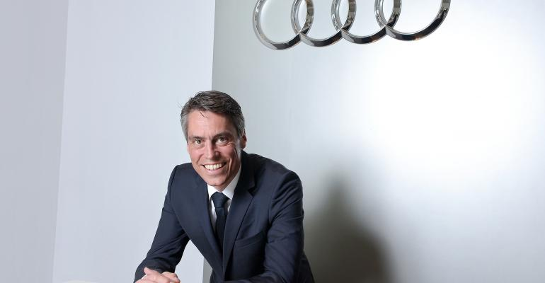 Koneberg held Audi management positions in China Hong Kong before Korea assignment