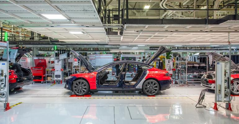 Labor complaint comes as Tesla struggles to launch its new highervolume Model 3