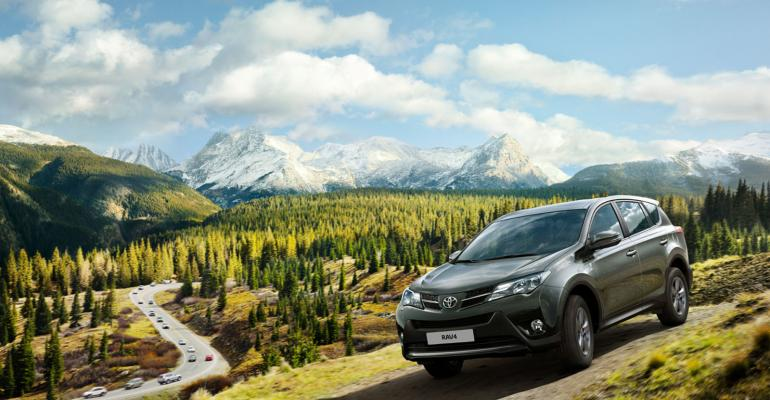 Some increased RAV4 production earmarked for export