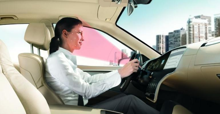 Driver analyzer judges facial cues movements to determine attentiveness to task of driving