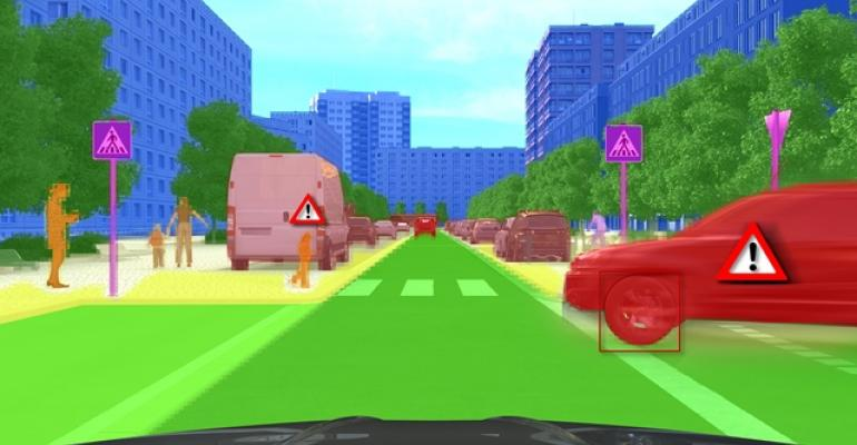Continentalrsquos wideangle camera enables deep learning to help accurately identify vehicles signs and obstacles