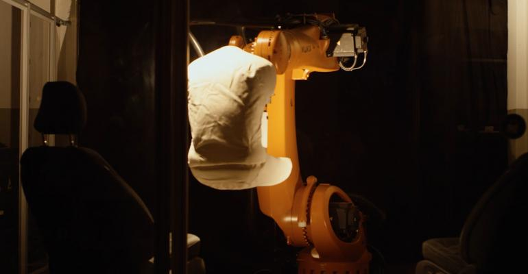 Fordrsquos customized robot tests for seat durability