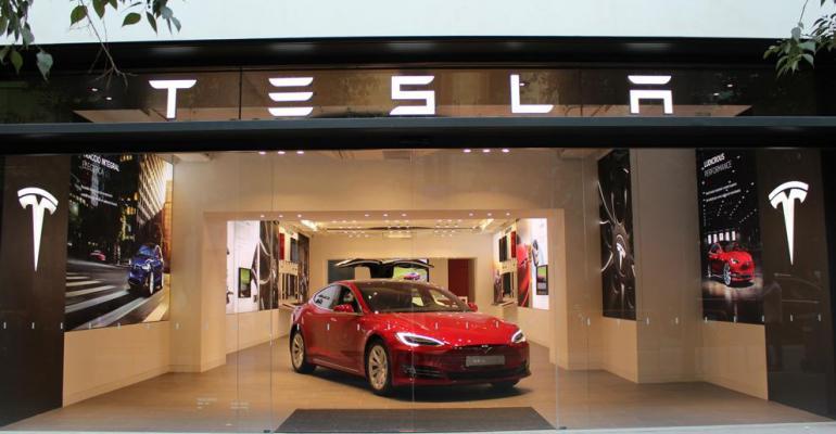 Tesla Model S Model X available for sale or test drives at Barcelona outlet