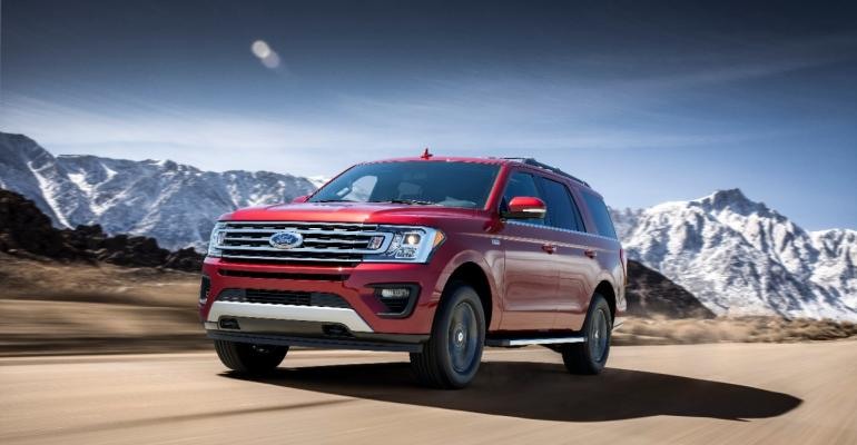 Longer wider rsquo18 Expedition still handles well for a large SUV